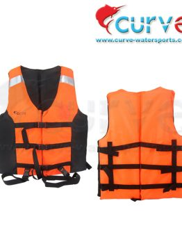 Life Jacket Curve Pelampung Badan Orange