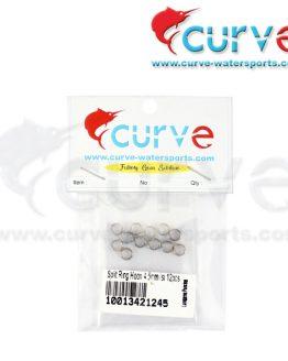 Split Ring Curve Hoox 4.5mm